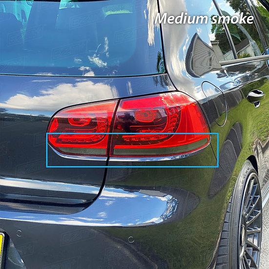 EZM Tail Light Transparency Tints x 2 for VW Golf MK6 GTI / GTD
