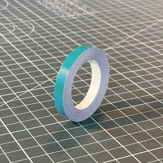 Teal / Turquoise  6mm Wide - High Quality Pin Stripe Vinyl