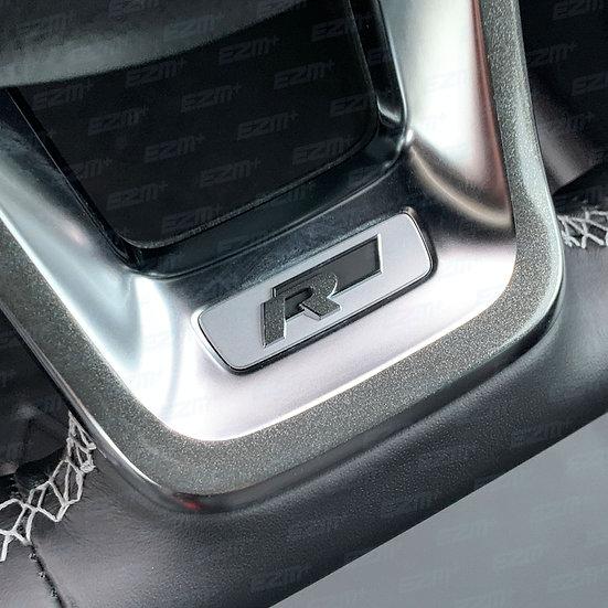 EZM Steering Wheel Mini R Overlay Decal for VW Tiguan MK2 (5N) R-Line