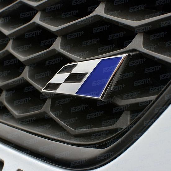 EZM Inlays for Seat Leon MK3 & MK3.5 Cupra Flag Badge