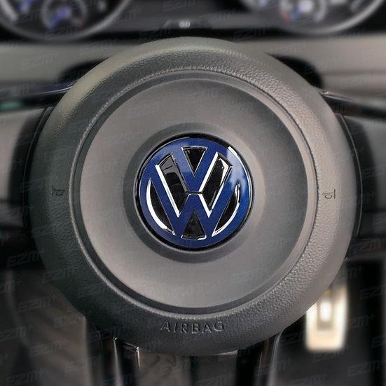 EZM Steering Wheel VW Overlay Decal for VW Golf MK7 / MK7.5 Models