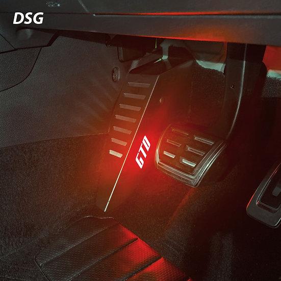 EZM Steel LED Footrest for VW Golf MK7 / MK7.5 GTD Models