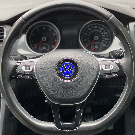 EZM Steering Wheel VW Overlay Decal for VW Golf MK7.5 TSI / TDI