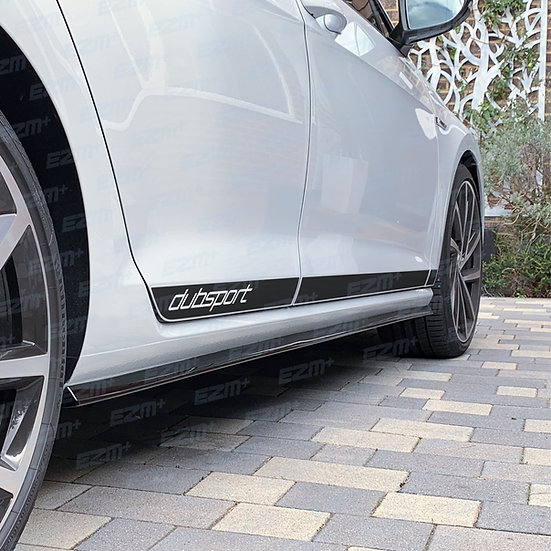 EZM Side Stripe Decals for VW Golf MK7 / MK7.5 Facelift - 5 Door