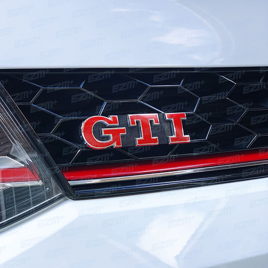 EZM GTI Badge Overlays x 2 for VW Golf MK6 GTI
