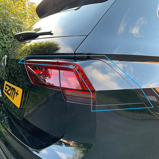 EZM Tail Light Stealth Overlays x 2 for VW Tiguan MK2 (5N)