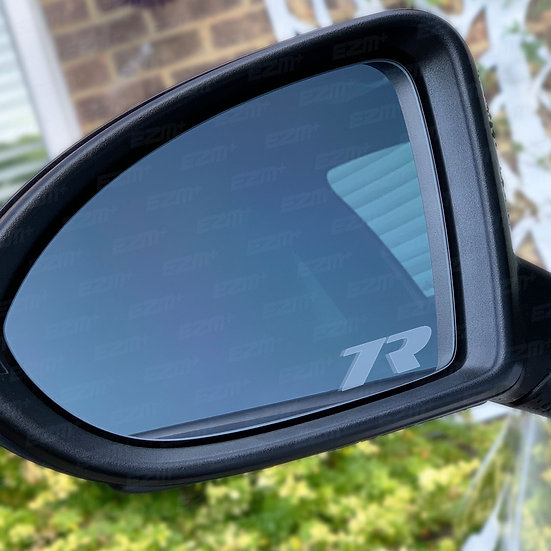 7R Frosted Wing Mirror Decals x 2 for VW Golf MK7 / MK7.5 R