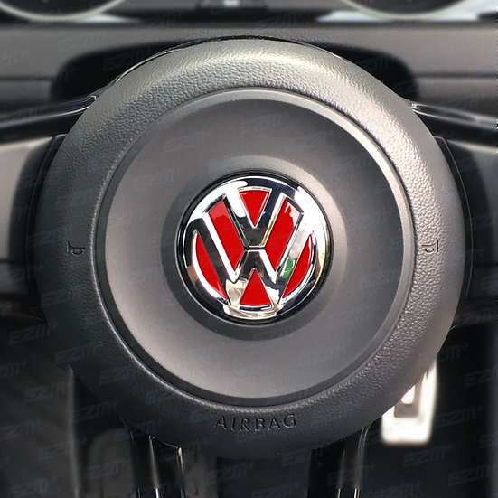 EZM Steering Wheel VW Inlays for VW Up GTI