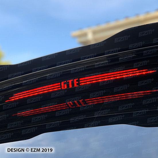 Brake Light Decal for VW Golf MK7.5 Facelift GTE