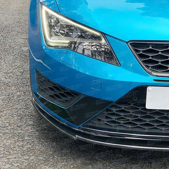 EZM Front Bumper Scoop Decals x 2 for Seat Leon MK3 5F Cupra / FR