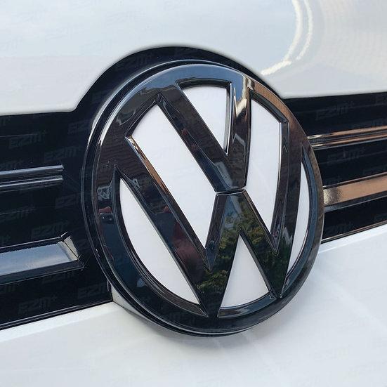 EZM Front & Rear Badge Inlays / Underlays for VW Golf MK7 Models