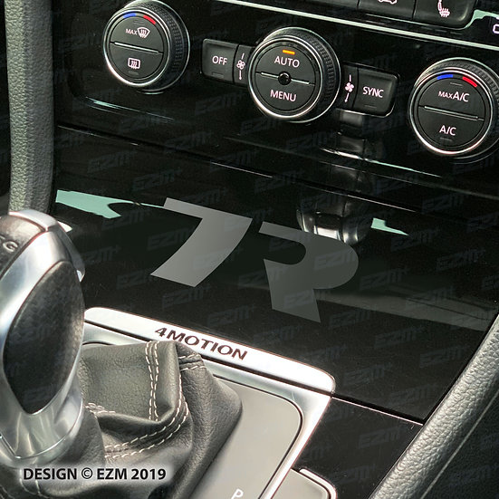 EZM Centre Console Decal for VW Golf MK7 / MK7.5 R