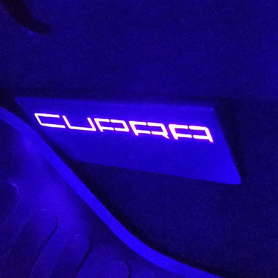 EZM Steel LED Passenger Side Plate for Seat Leon MK3 / MK3.5 Cupra Models