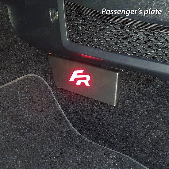EZM Steel LED Passenger's Plate for Seat Ibiza MK5 Models