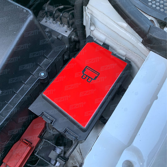 EZM VAG Fuse Box Cover Decal
