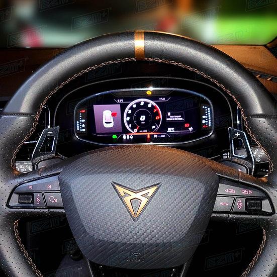 EZM Steering Wheel 12 O'Clock Stripe for Cupra Ateca Model