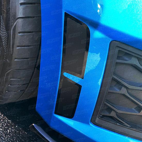 EZM Bumper Vent Insert Decals x 2 for Seat Leon Cupra MK3