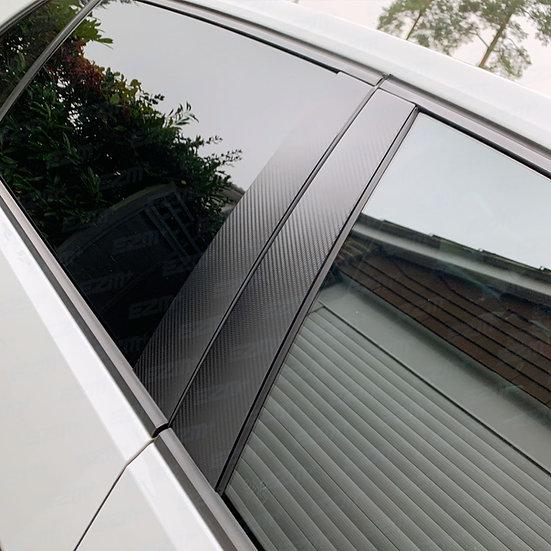 EZM Door Pillar Overlays for VW Golf MK7 & MK7.5 Models