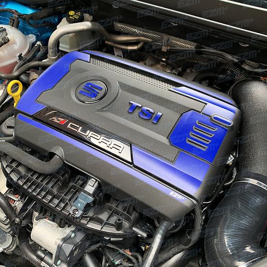 EZM Engine & Fuse Box Cover Decals for Seat Leon MK3 / MK3 Leon Cupra