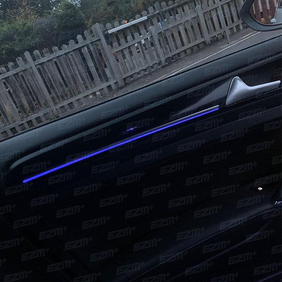 Interior Door Light Overlay Set for VW Golf MK7.5 R-Line 5 Door
