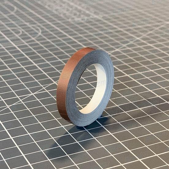 Metallic Copper 6mm Wide - High Quality Pin Stripe Vinyl