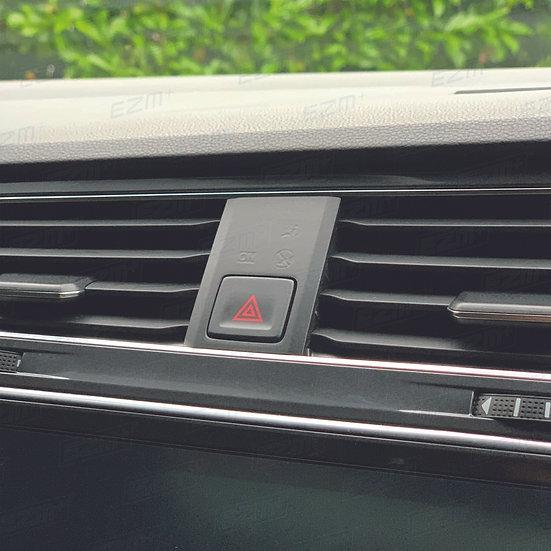 EZM Hazard Warning Switch Overlay for VW Tiguan MK2 (5N)