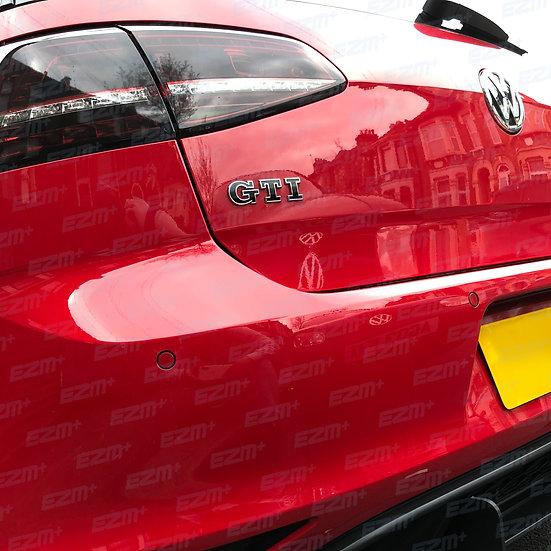 EZM GTI Badge Overlays x 2 for VW Golf MK7.5 GTI