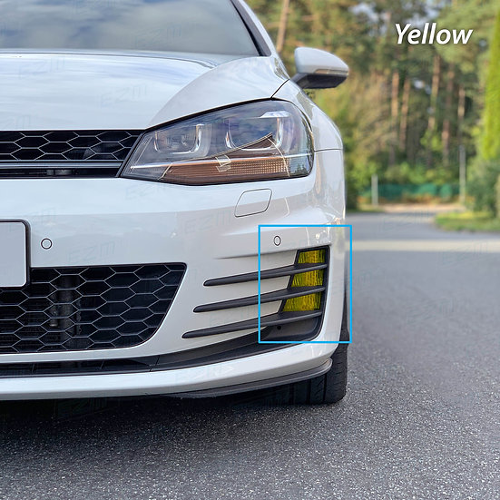 EZM Fog Light Overlays for VW Golf MK7 GTI & GTD