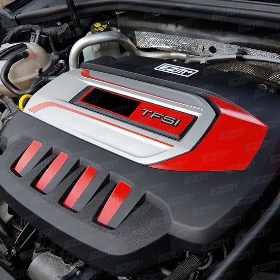 EZM Engine & Fuse Box Cover Decals for Audi S1
