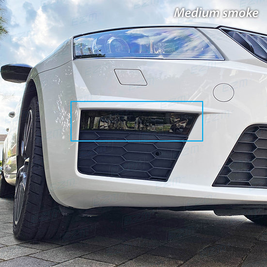 EZM Front Fog Light Tints x 2 for Skoda Octavia MK3 VRS