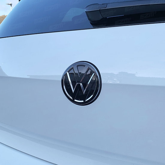 EZM Rear VW Badge Overlays for VW Golf MK7.5 Facelift Models