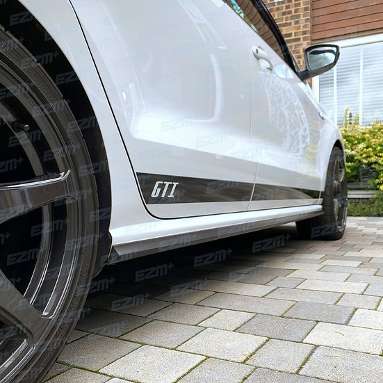 Side Stripes Decals - 5 Door - for VW Polo MK5 6C Facelift GTI