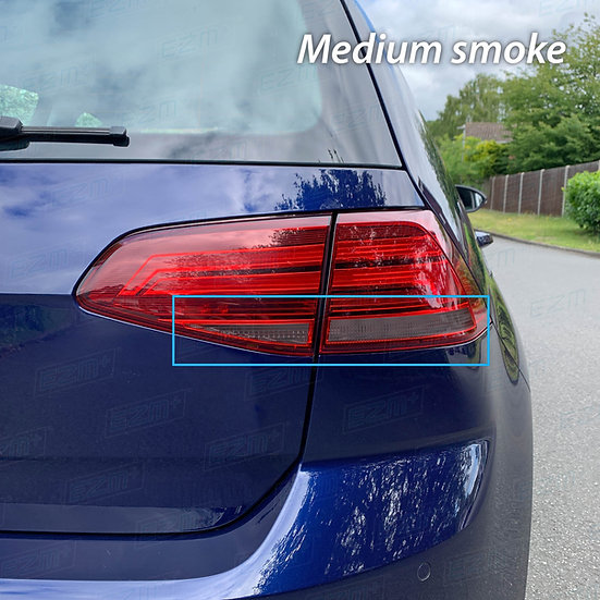 EZM Tail Light Transparency Tints x 2 for VW Golf MK7 / MK7.5 TSI / TDI