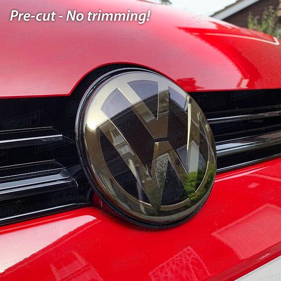 EZM Pre-Cut Front Badge Radar Tint Film Kit for VW Golf MK7.5 Facelift Models