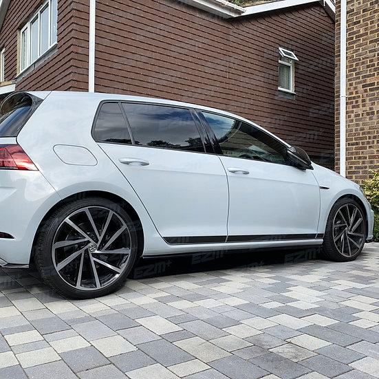 EZM Clubsport Style Side Stripe Decals for VW Golf MK7 / MK7.5 - 5 Door