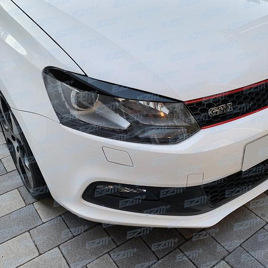 EZM Headlight Brow Decals x 2 for VW Polo MK5 6R GTI
