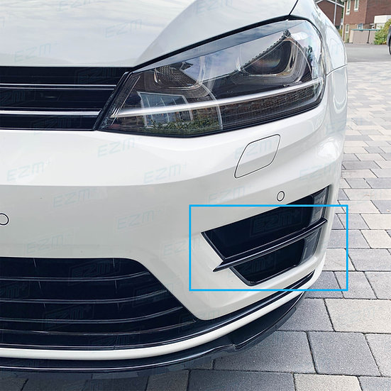 EZM Front Bumper Scoop Bar Decals for VW Golf MK7 R