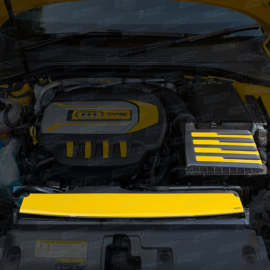 EZM OEM Air Intake Box & Scoop Stickers for Audi S3 8V