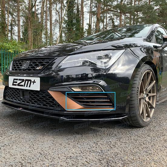 EZM Front Bumper Scoop Pin Stripe Decals for Seat Leon MK3.5 Cupra