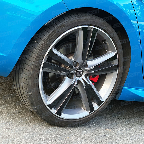 Seat Leon MK3 Cupra 19 Inch Alloy Wheel FULL Blackout Decals