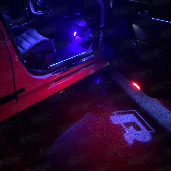 Door Puddle Lights x 2 for VW Golf MK7 / MK7.5 R Models