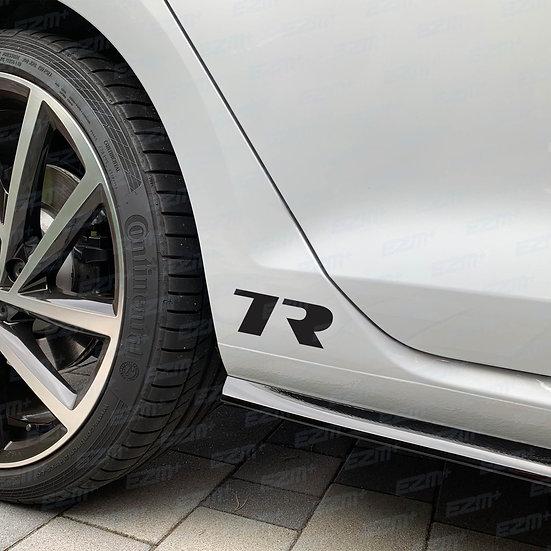 EZM 7R Sill Decals x 2 for VW Golf MK7 / MK7.5 R