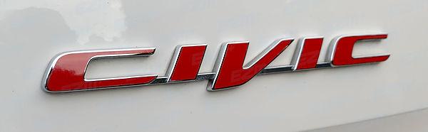 Honda Civic Type R FK2 - CIVIC Boot Badg