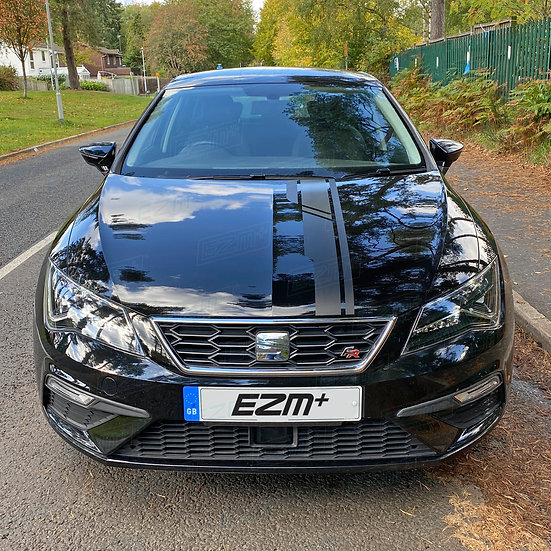 EZM Bonnet Stripe Decal for Seat Leon MK3 /MK3.5 Models