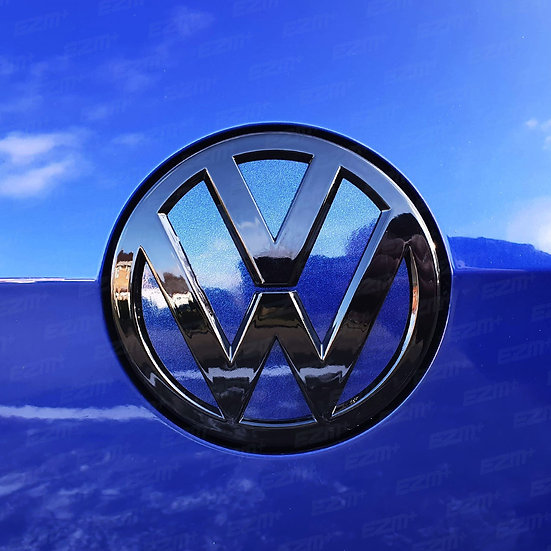 EZM Rear Badge Inlays / Underlays for VW Golf MK7.5 Facelift Models