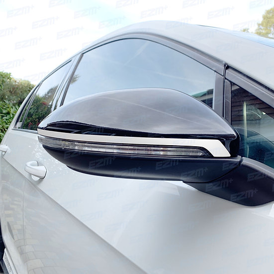 EZM V1 Wing Mirror Strip Decals x 2 for VW Golf MK7 / MK7.5 Models