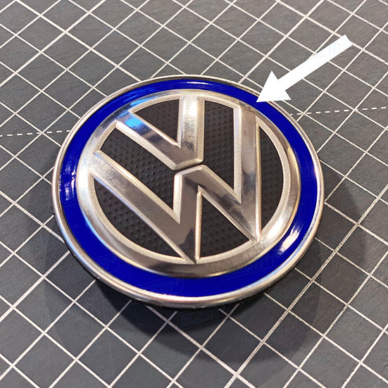 EZM Ring Decals x 4 for VW 65mm Wheel Caps