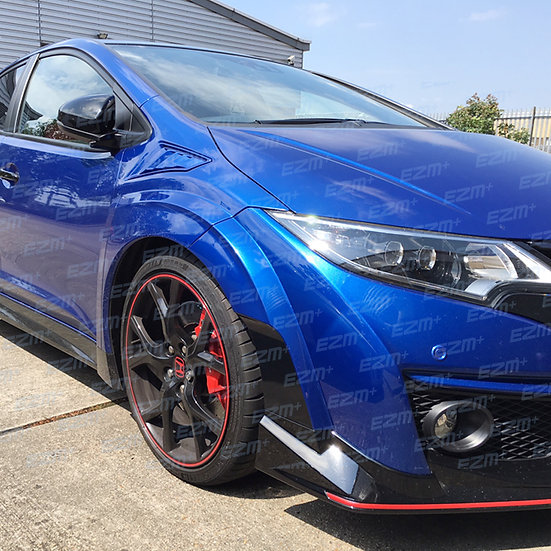 Side Bumper Decals for Honda Civic Type R FK2