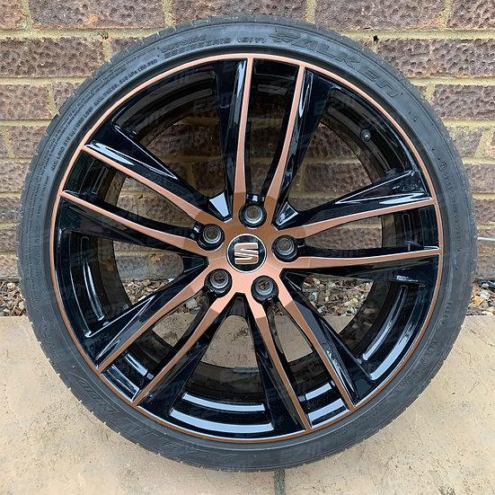 EZM 19 Inch Wheel Overlay Decals fo Seat Leon MK3.5 Facelift Cupra