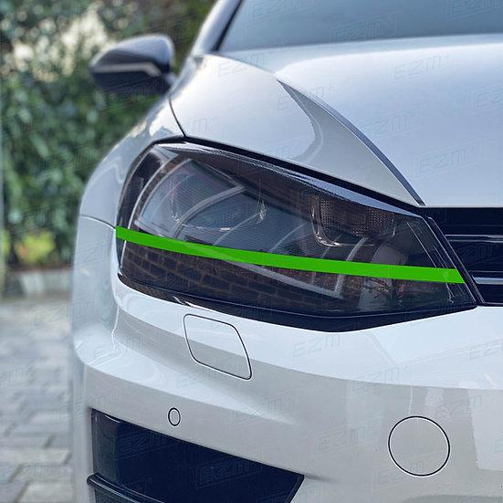 EZM Headlight Strip Decals x 2 for VW Golf MK7 Models